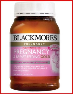 Jual Blackmores Pregnancy and Breastfeeding Gold Vitamin untuk ibu hamil
