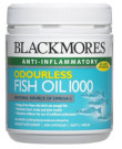 Odourless Fish Oil Blackmores 1000 mg Omega 3 Termurah