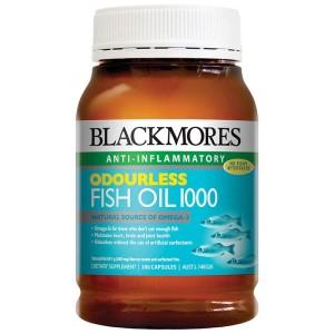 jual minyak ikan Blackmores Odourless Fish Oil 1000 200 kapsul