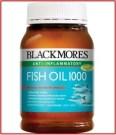 Odourless Fish Oil Blackmores 1000 mg Omega 3 Termurah