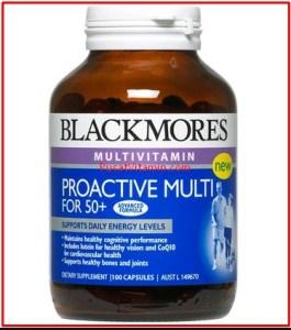 Jual blackmores proactive multi for 50+ Vitamin untuk lansia