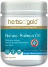 Jual Minyak Ikan Salmon Herbs of Gold 400 Kapsul