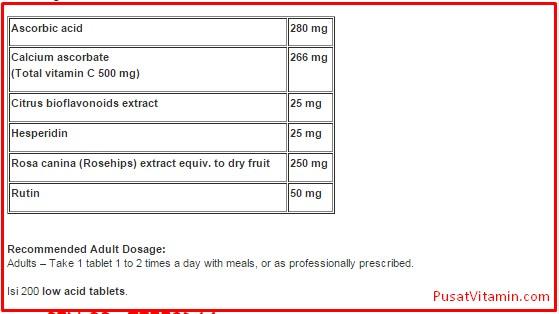 manfaat Blackmores Vitamin c